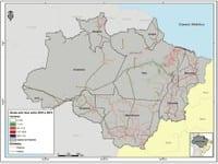 agosto 2013 julho 2013a - Boletim Risco de Desmatamento (Agosto de 2012 a Julho de 2013)