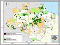 amazonia legal maio 2008 - Boletim Transparência Florestal Amazônia Legal (Fevereiro de 2011)