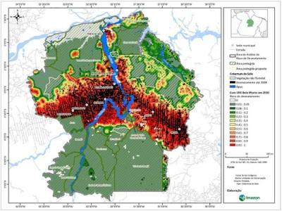 anexo5 - Risco de Desmatamento Associado à Hidrelétrica de Belo Monte