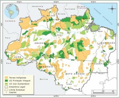 figura1 9 - Áreas Protegidas na Amazônia Brasileira: avanços e desafios