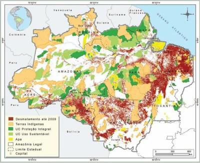 figura12 6 - Áreas Protegidas na Amazônia Brasileira: avanços e desafios