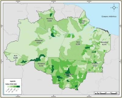 figura13 1 - A Amazônia e os Objetivos do Milênio 2010