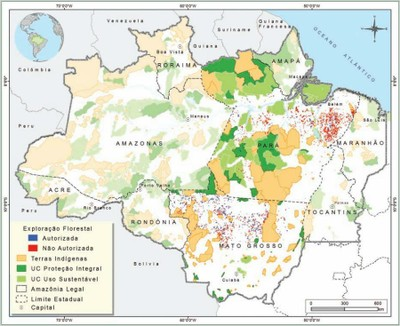 figura15 6 - Áreas Protegidas na Amazônia Brasileira: avanços e desafios