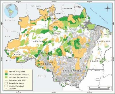 figura17 3 - Áreas Protegidas na Amazônia Brasileira: avanços e desafios