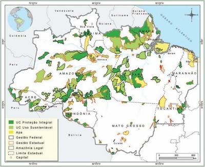 figura2 8 - Áreas Protegidas na Amazônia Brasileira: avanços e desafios