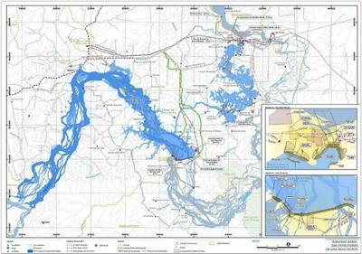 figura3.1 1 - Risco de Desmatamento Associado à Hidrelétrica de Belo Monte