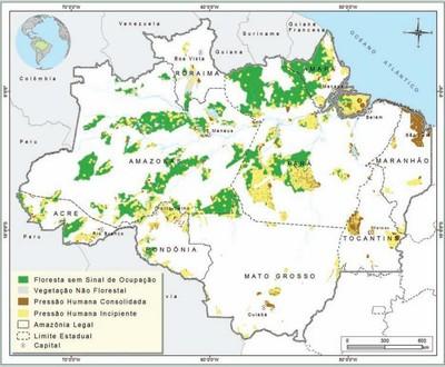 figura5 8 - Áreas Protegidas na Amazônia Brasileira: avanços e desafios