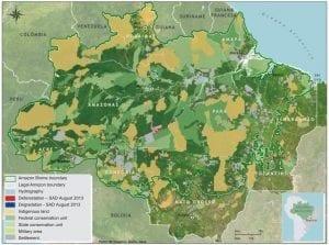 image99 300x223 - Deforestation Report (SAD) August 2013