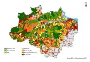 map 300x209 - The Increase in Deforestation in the Amazon in 2013: a point off the curve or out of control?