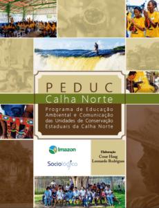 PEDUC 230x300 - Programa de Educação Ambiental e Comunicação das Unidades de Conservação Estaduais da Calha Norte