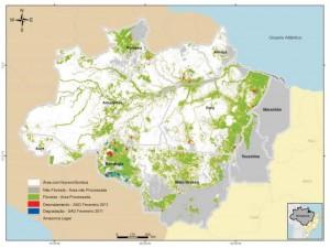 image 121 300x225 - Boletim do Desmatamento (SAD) Fevereiro de 2011