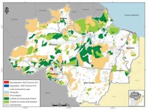 image 23 300x224 - Boletim do Desmatamento (SAD) Fevereiro de 2011