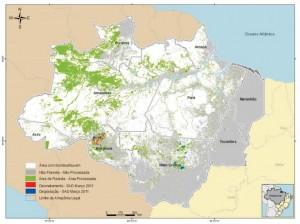 mar figura12 300x224 - Boletim do Desmatamento (SAD) Março de 2011