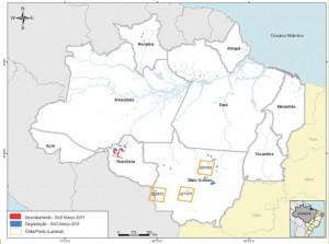 mar figura13 300x223 - Boletim do Desmatamento (SAD) Março de 2011