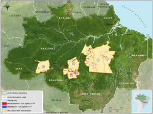 SAD agosto Figura09 300x223 - Boletim do desmatamento da Amazônia Legal (agosto de 2015) SAD