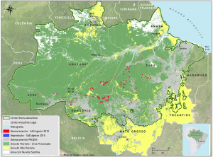 SAD agosto figura10 300x222 - Boletim do desmatamento da Amazônia Legal (agosto de 2015) SAD