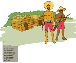 cabanos 300x246 - A floresta habitada: História da ocupação humana na Amazônia