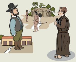 missoes religiosas 300x246 - A floresta habitada: História da ocupação humana na Amazônia