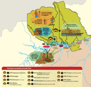 mucambos 300x288 - A floresta habitada: História da ocupação humana na Amazônia