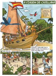 quadrinho 1 222x300 - A floresta habitada: História da ocupação humana na Amazônia