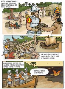 quadrinho 2 218x300 - A floresta habitada: História da ocupação humana na Amazônia