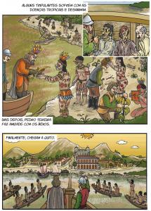 quadrinho 2 2 215x300 - A floresta habitada: História da ocupação humana na Amazônia