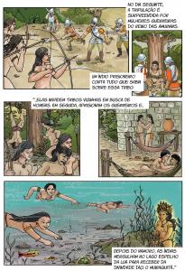quadrinho 4 205x300 - A floresta habitada: História da ocupação humana na Amazônia