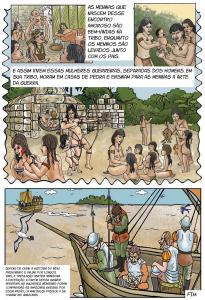 quadrinho 5 205x300 - A floresta habitada: História da ocupação humana na Amazônia