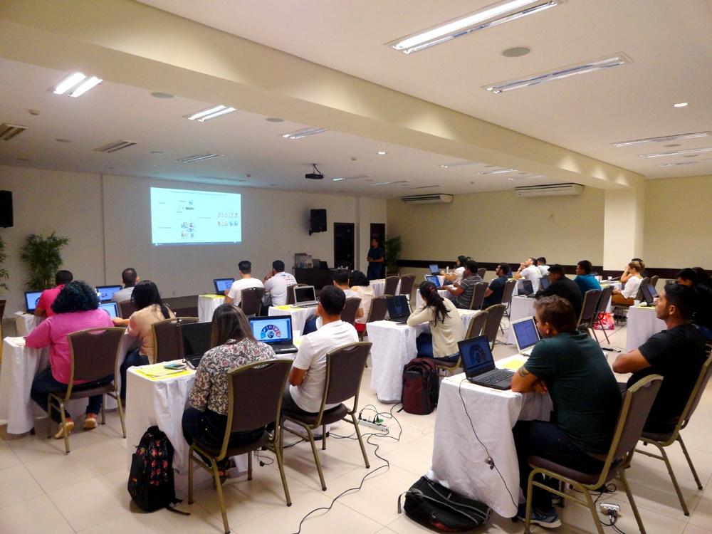 Capacitacao geotecnologia1 - Fortalecimento da Gestão Ambiental na Amazônia