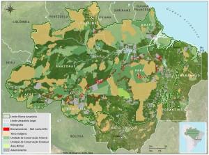 SAD junho 2016 desmatamento 300x223 - Boletim do desmatamento da Amazônia Legal (junho de 2016) SAD