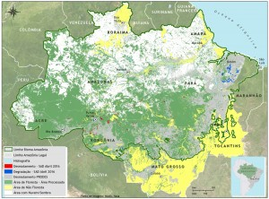 SAD nuvens abril 2016 300x222 - Boletim do desmatamento da Amazônia Legal (abril de 2016) SAD