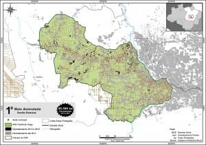 fig 10 UCS+Desm 300x212 - Unidades de Conservação mais desmatadas da Amazônia Legal (2012-2015)