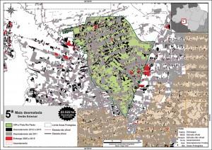 fig 18 UCS+Desm 300x212 - Unidades de Conservação mais desmatadas da Amazônia Legal (2012-2015)