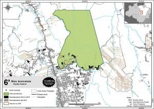 fig 22 UCS+Desm 300x212 - Unidades de Conservação mais desmatadas da Amazônia Legal (2012-2015)