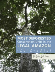 Most deforestation Protected Area Amazon 2012 2015 1 230x300 - Most deforested Conservation Units in the Legal Amazon (2012 - 2015)