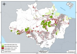 UCS+ fig 02 ing 300x212 - Most Deforested Conservation Units in the Legal Amazon (2012-2015)