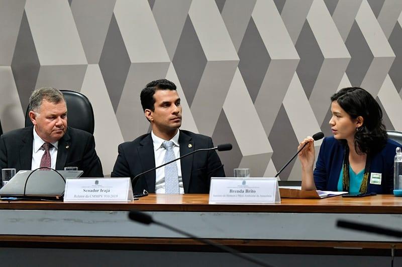 Brenda Brito Senado Federal Jane Araujo - Imazon participa de audiência pública no Senado para discutir a nova MP da regularização fundiária
