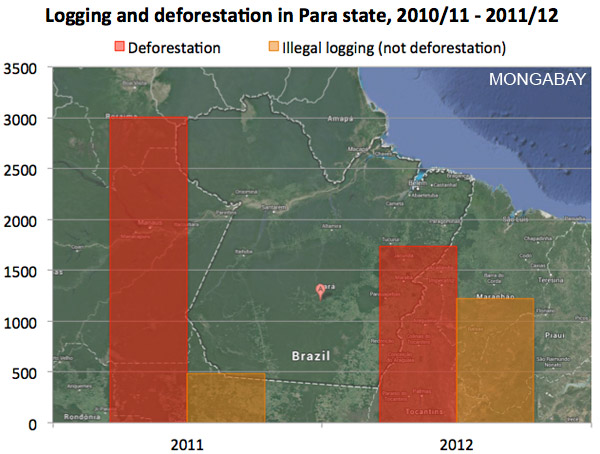 1023PARA - Illegal logging remains rampant in Brazil