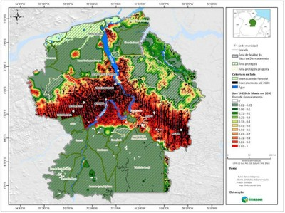 anexo4 - Risco de Desmatamento Associado à Hidrelétrica de Belo Monte