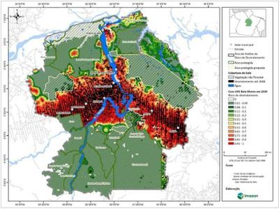 anexo7 - Risco de Desmatamento Associado à Hidrelétrica de Belo Monte