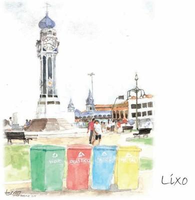 lixo - Belém Sustentável 2007