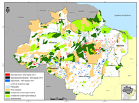 transparencia florestal1 - Forest Transparency for the Legal Amazon (November 2010)