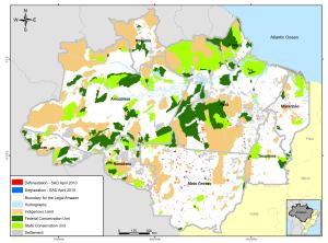 april g 300x222 - Deforestation April 2010