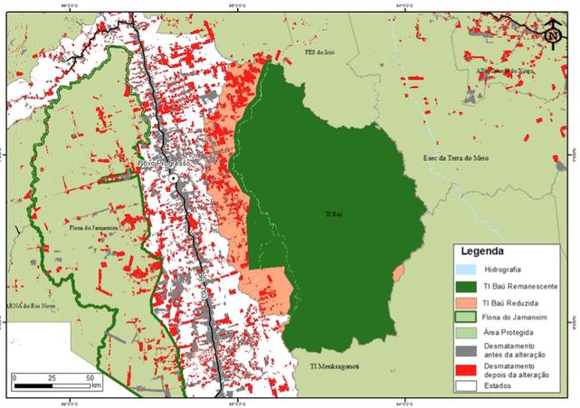 Carbono Brasil Areas Protegidas