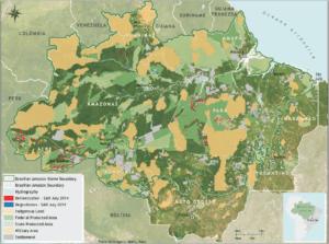 sadjuly 300x223 - Deforestation Report (SAD) July 2014