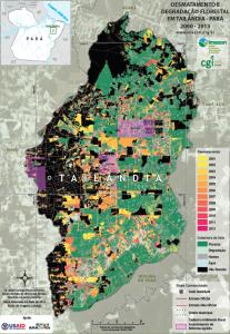 Desmatamento tailandia