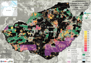 Desmatamento ulianopolis