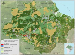 mapa sad desmat 08 2014 INGLES 300x222 - Deforestation report for the Brazilian Amazon (August 2014) SAD