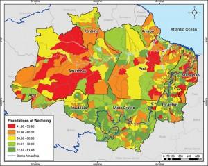 ResExecIPS ING fig07 300x239 - Social Progress Index for the Brazilian Amazon - IPS Amazônia 2014 (Executive Summary)