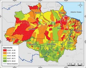 ResExecIPS ING fig08 300x239 - Social Progress Index for the Brazilian Amazon - IPS Amazônia 2014 (Executive Summary)
